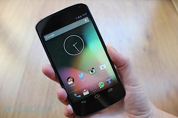 Google Nexus 4, análisis