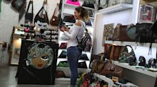 U.S. consumer prices fall in March, led by gasoline