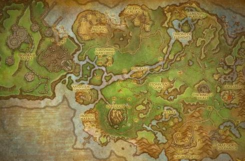 Warlords of Draenor: Nagrand zone preview