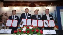 Riverine China Enters into a Strategic Cooperation Framework Agreement with Shanghai URF; and Enters into a Cooperation Framework Agreement with Shenzhen Hietech and Shenzhen NXTEC