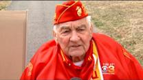New Jersey World War II Hero Returns Home From Trip To Iwo Jima