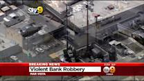 Search On For 3 Bank Robbers Who Pistol-Whipped, Tasered Victims In Mar Vista