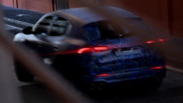 Maserati Grecale 原型車模糊現身,年底正式發表