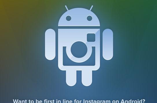 Instagram opens signup page for Android port, release date still unknown