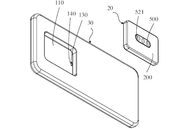 Oppo explores phones with removable camera modules