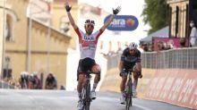 Giro - Diego Ulissi, vainqueur de la deuxième étape du Giro : «J'ai vu que Peter Sagan était fatigué»