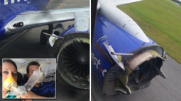 In-Flight Horror as Engine Fails, Rips Apart Forcing Emergency Landing