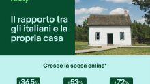 Gli italiani e la casa: su eBay +36,5% acquisti bricolage dal 2016