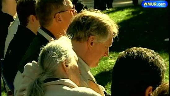 Emotional ceremony held for slain UNH student