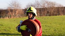 UK's first hijab-wearing firefighter wants fire brigade to 'represent the community we serve'