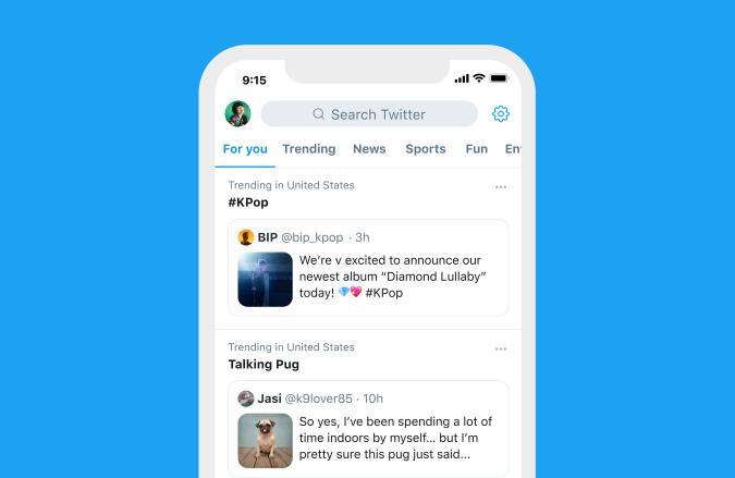 Twitter will pin tweets to trending topics.