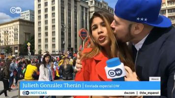 Man sorry for groping World Cup reporter