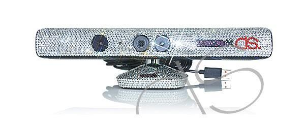 Kinect meets Swarovski crystals, gaudiness ensues (video)