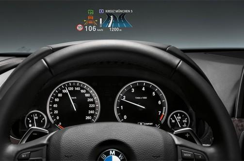BMW 3 Series gets 'full-color' heads-up display