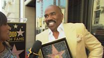 Steve Harvey Gets His Star On The Hollywood Walk Of Fame
