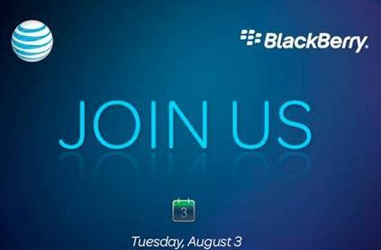 RIM and AT&T event next Tuesday -- BlackBerry slider and OS 6 en route?
