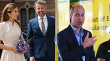 Royals on duty: UK and Danish royals head back to work after lockdown