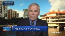 Fight for Fox is 'all about cash': Gabelli's Larry Havert...