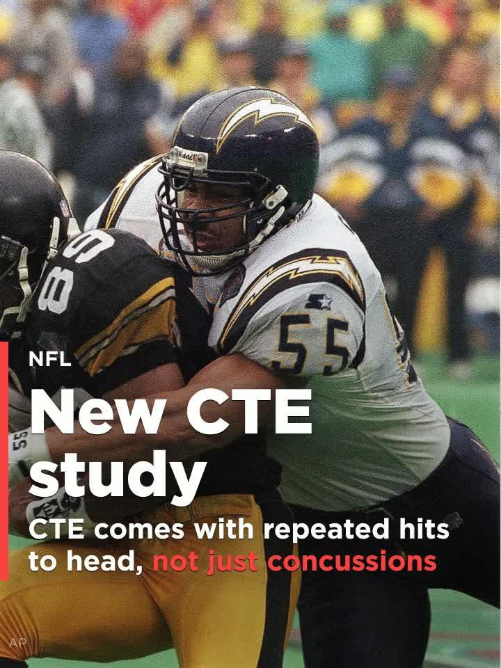 Repeated Head Hits Not Just Concussions >> New Study Shows Development Of Cte Comes With Repeated Hits To Head