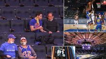 New Yorkers return to Knicks, Nets games for the first time in a year