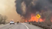 Winds Fuel Colorado's Skipper Island Fire