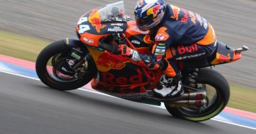 Moto - Moto2 - USA - Moto2 : Miguel Oliveira devant la meute