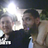 Tim Duncan is the perfect teammate when you're drunkenly leaving the club