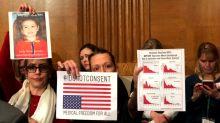 Anti-vaxxers pack hearing as senators investigate viral epidemic — of fear