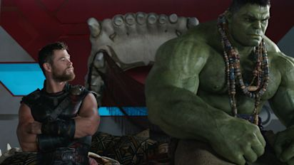 The Hulk's skull bed in Thor: Ragnarok is an Easter egg