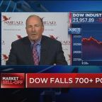 Dow sells off more than 700 points on trade war fears