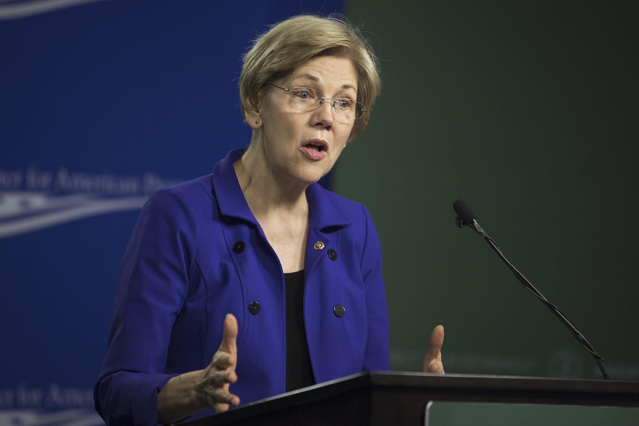 Elizabeth Warren Wants Tear Tax 185157577 on 2779 Numbers 1 10