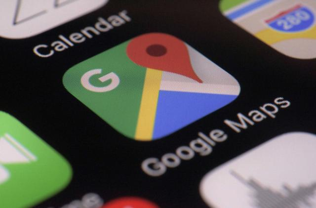 Google Maps supports adding hashtags to reviews
