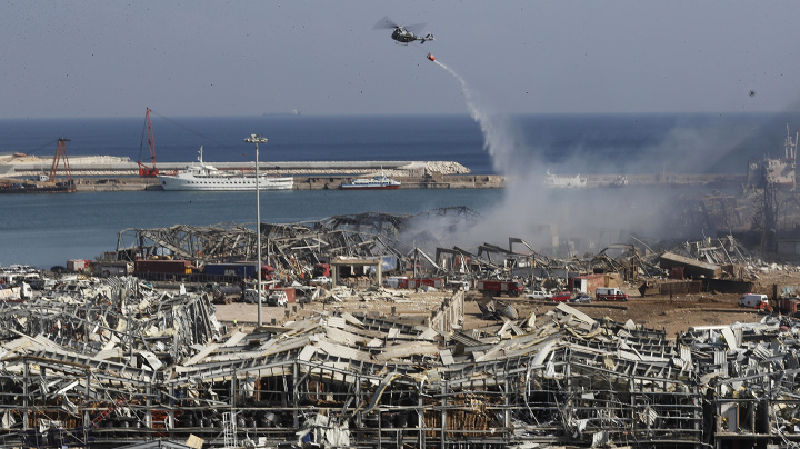 Fireworks, chemical likely Beirut blast causes
