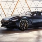 BMW Unveils Edgy, Luxurious Concept 8 Series Coupe