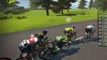 Cyclisme - Tour virtuel - Tour de France virtuel : le résumé de la 4e étape en vidéo