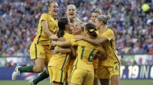 Matildas beat US to be top of soccer world