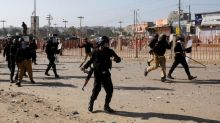 Pakistan Islamists clash with police over French cartoons depicting Prophet Mohammad
