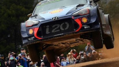 Neuville wins Rally Australia, secures world championship second