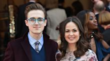 'I'm A Celebrity's Giovanna Fletcher recalls her first kiss... and hopes McFly's Tom Fletcher doesn't mind