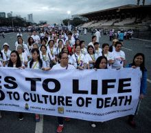 Philippine Church in 'show of force' against drug killings
