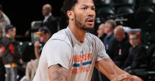 Basket - NBA - NY Knicks - New York Knicks : Derrick Rose à nouveau blessé au genou, victime d'une lésion du ménisque