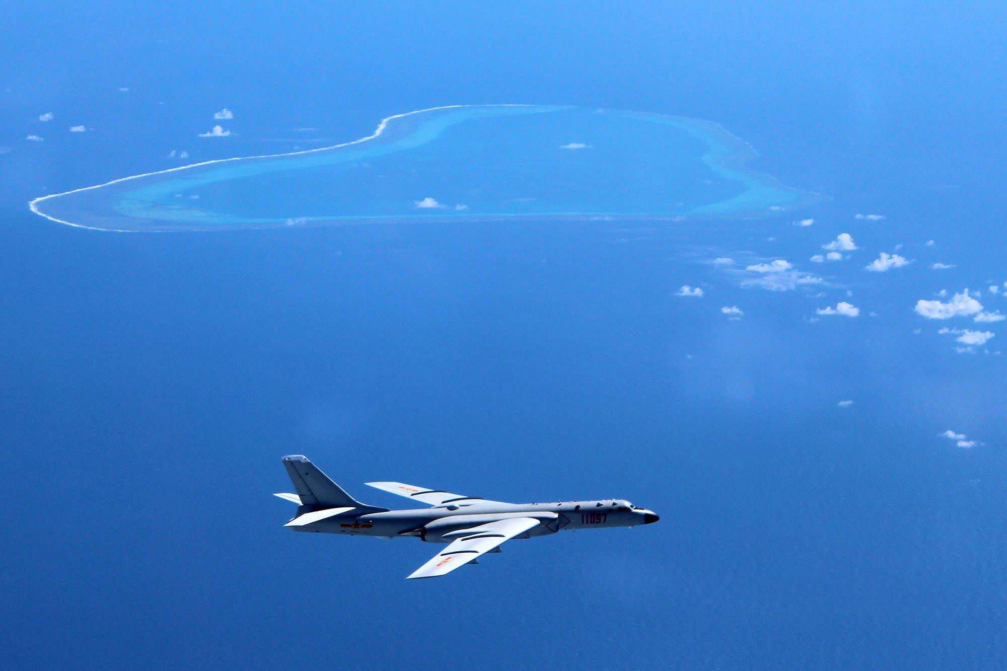 U.S. destroying peace, stability in South China Sea, says China