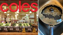 'Glass all over': Coles shopper's shock over 'huge bang' while cooking dinner