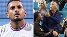 Nick Kyrgios in extraordinary mid-match altercation with fan