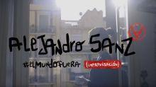 Alejandro Sanz improvisa una canción desde la cuarentena: así suena 'El mundo fuera'