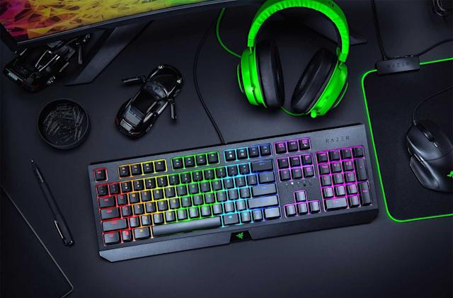 Razer's BlackWidow mechanical keyboard is 42 percent off right now