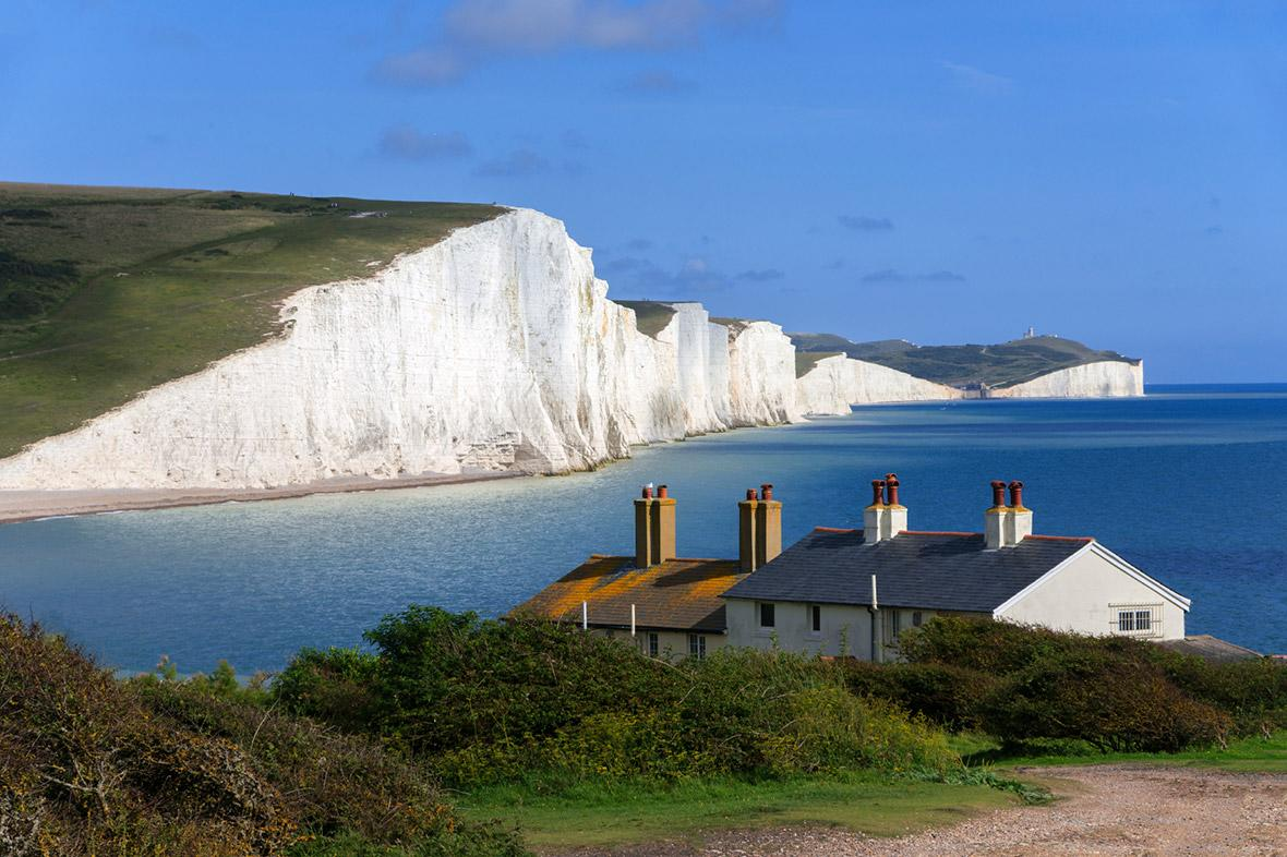 The White Cliffs of Dover have been crumbling faster in the past 150 years