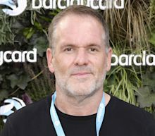 Chris Moyles shares blonde hair transformation following lockdown