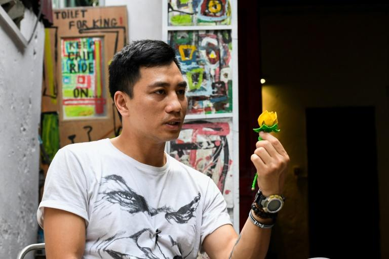 Artist Thinh Nguyen's work focused on social and environmental issues in communist Vietnam, where critics and activists are routinely jailed