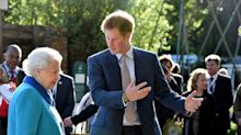 Prince Harry 'panics' when he bumps into his grandmother the Queen